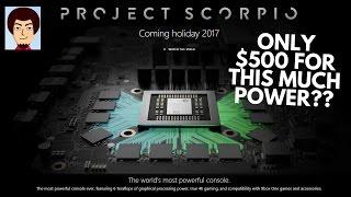 Xbox Project Scorpio Specs Revealed! | Native 4k & 60fps?
