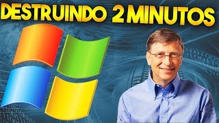 DESTROYING WINDOWS XP IN 2 MINUTES (VIRUS TEST)