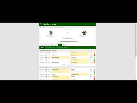[Обзор голов на Футбол] и Прогноз на матч Вест Бромвич – Вулверхэмптон [03.05.2021]: последние очные