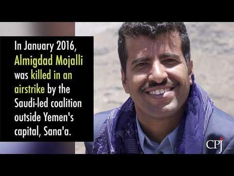 Two Years Since Killing of Almigdad Mojalli in Yemen