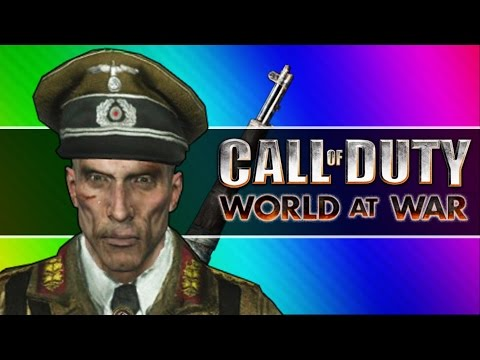 Thumbnail: Zombie Walk! (Call of Duty WaW Zombies Funny Moments, Custom Maps, Mods)