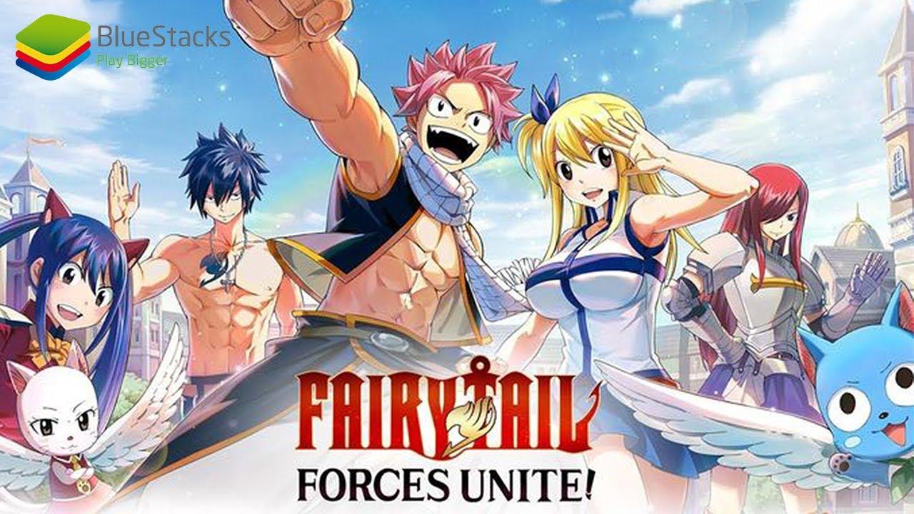 Game Wibu Di Android Seru Nga Sih Fairy Tale Forces Unite With Bluestack Youtube