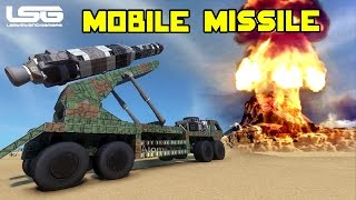 Space Engineers - Mobile Missile Launchers