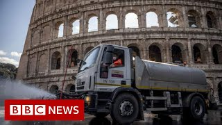 Coronavirus: Italy virus deaths rise but infections slow again  - BBC News