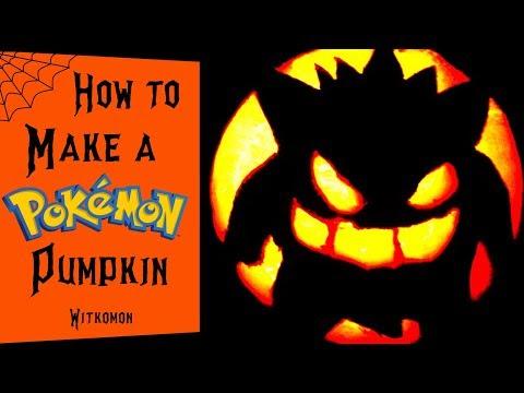 How To Make A POKEMON Pumpkin!