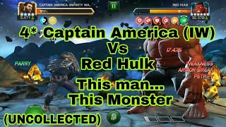 4* Captain America Vs Red Hulk - This Man...This Monster Uncollected (MCOC)