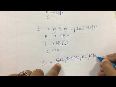 Simplification Of CFG Part-3 | Removal of Null Productions | Theory Of Computation(TOC)