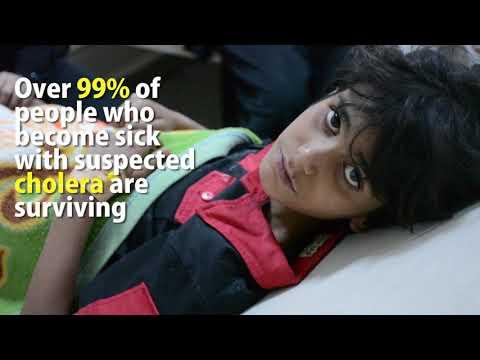 Cholera count reaches 500 000 in Yemen