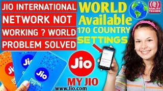 🔴 Jio Sim International Roaming Activation   How To Use Jio Sim In International Roaming 🔥🔥🔥
