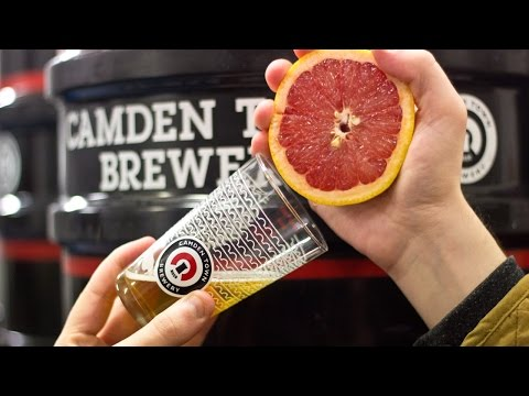 Brewing A Grapefruit IPA At Camden Town Brewery | The Craft Beer Channel