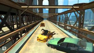 GTA 4 -Slow Motion Crashes Part 3 (HD)