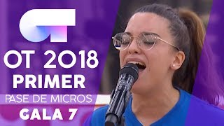 """STONE COLD"" - NOELIA  | PRIMER PASE DE MICROS GALA 7 | OT 2018"