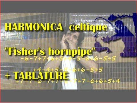 Fisher's hornpipe + tablature harmonica diatonique interprétation ...