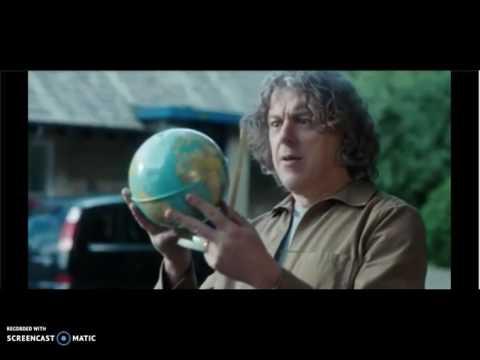 Flat Earth – Globe Earth mockery in Jonathan Creek