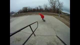 electronica skateboarding montage
