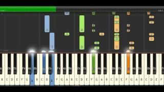 Piano Tutorial  Learn  1 hour Piano by Synthesia lesson 2017