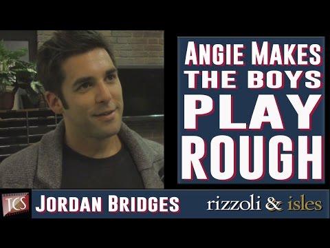 Jordan Bridges  Angie Makes the Boys Play Rough