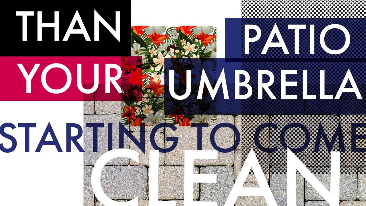 Superbe Your Patio Umbrella Clean In 30 SECONDS!