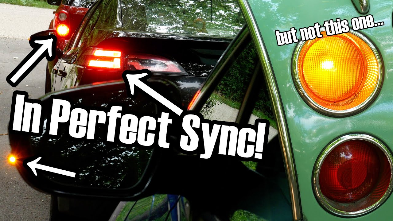 Why it's not possible to synchronize turn signals (but also absolutely is)