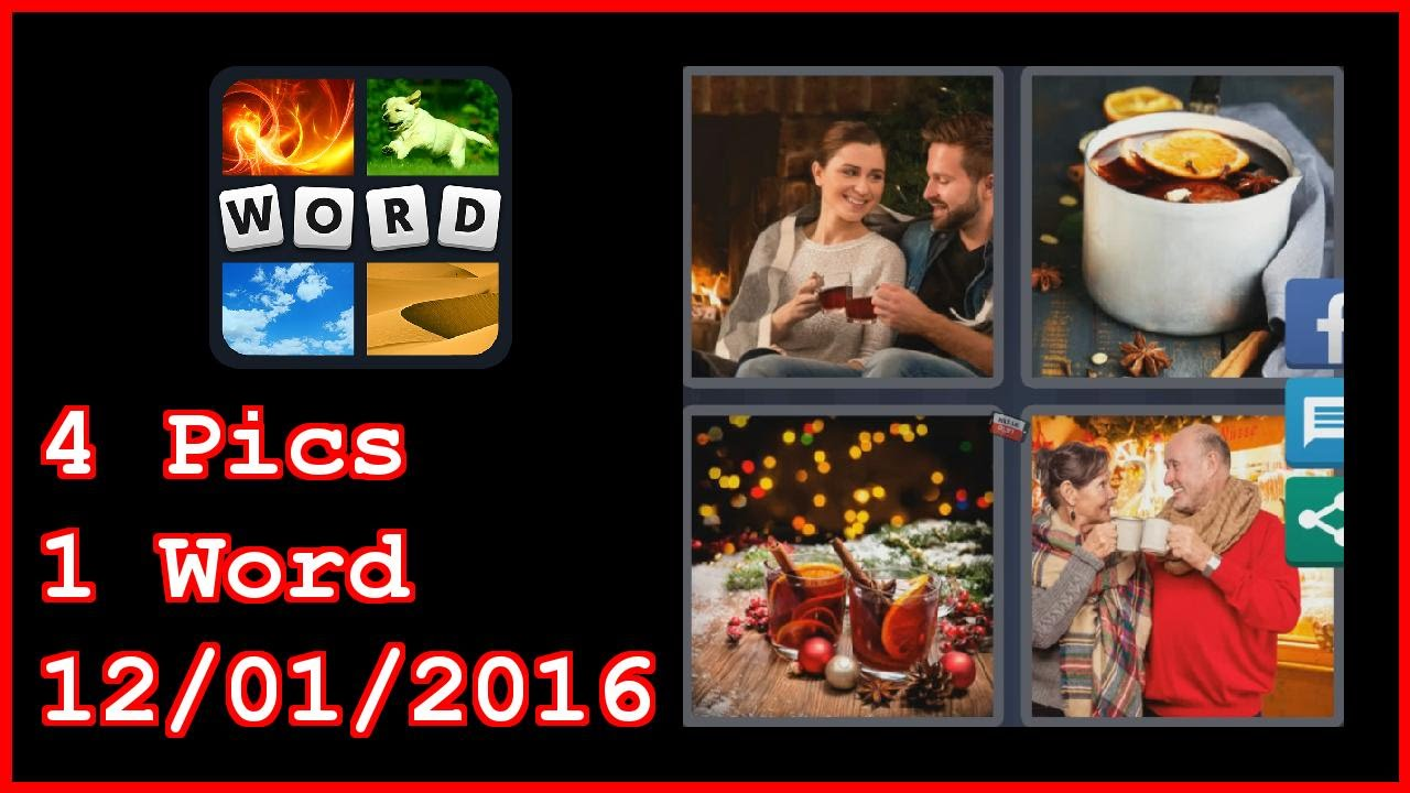 4 Pics 1 Word - 12/01/2016 - Daily Puzzle - Christmas 2016 - 12/1 ...