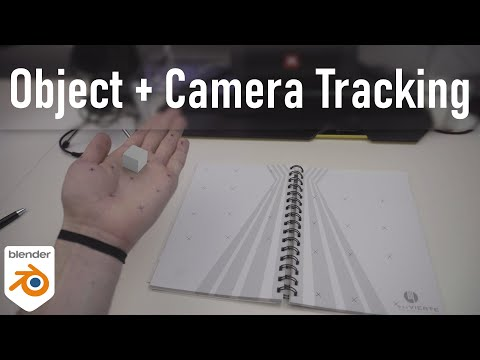 Combine Object And Camera Tracking In Blender [Intermediate] | English