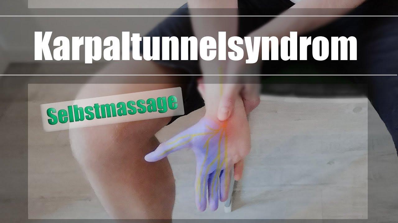 Karpaltunnelsyndrom übungen