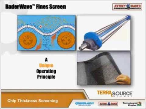 Chip Thickness Screening - TerraSource Global Webinar Series