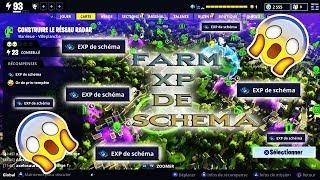 FARM XP OF SCHEMA FORTNITE SAUVER THE WORLD