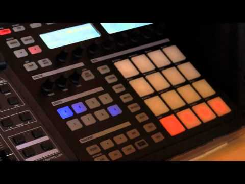 Making a chilled summer time beat with Maschine