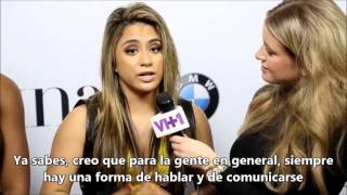 Fifth Harmony's Empowering Message For Young Latinas [SUBTITULADO]