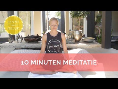 How to mediteren -10 minuten- | Sanny zoekt Geluk