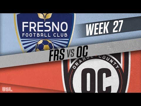 Fresno FC vs Orange County SC: September 16, 2018