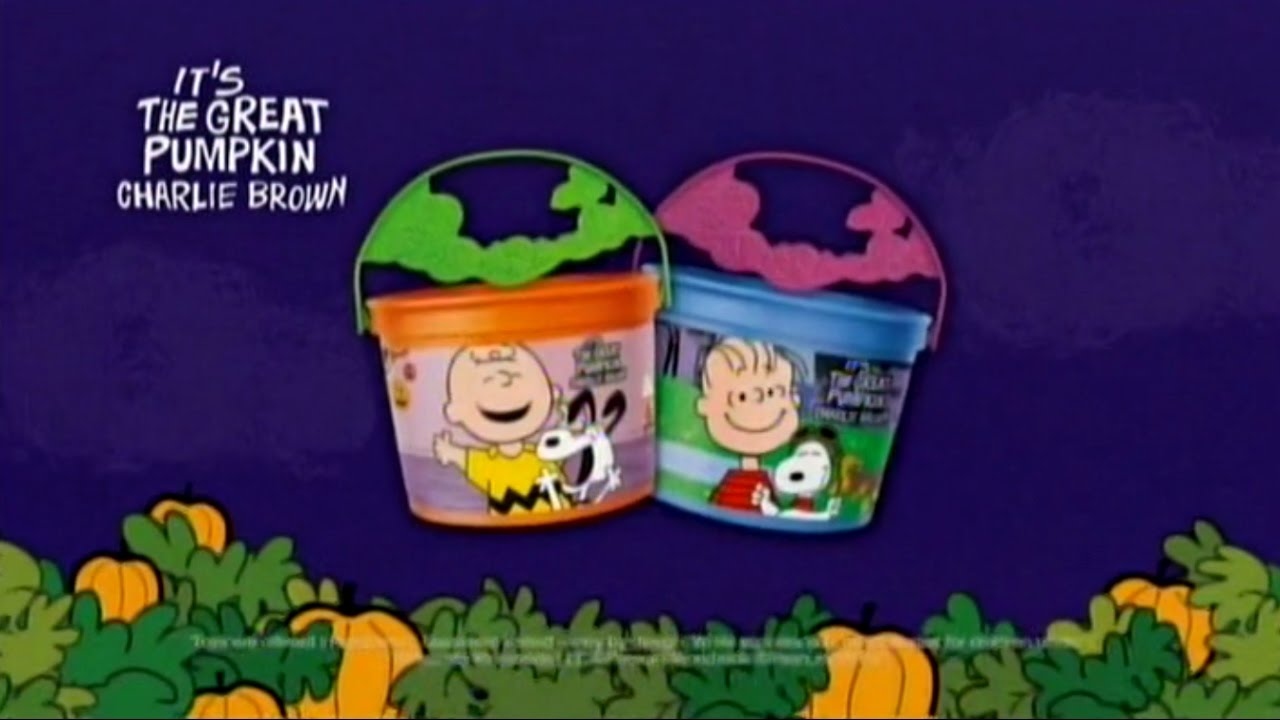 It's The Great Pumpkin Charlie Brown Quotes Impressive Mcdonald's Canada  It's The Great Pumpkin Charlie Brown Pail