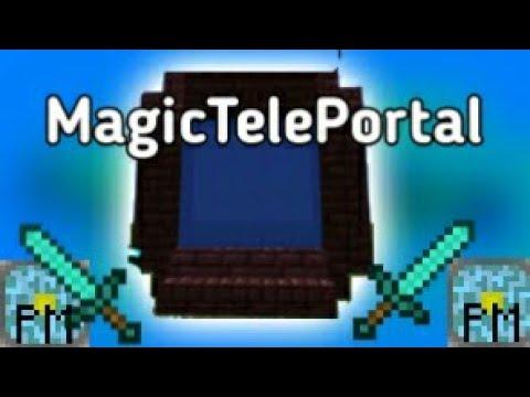 MCPE | PocketMine Plugin | MagicTelePortal | 1 2 10