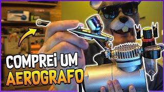 UNBOX DO AEROGRAFO PRA PINTAR AS IMPRESSÕES 3D QUE FAÇO thumbnail