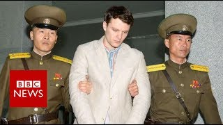 Otto Warmbier the US student who had been jailed in North Korea for...