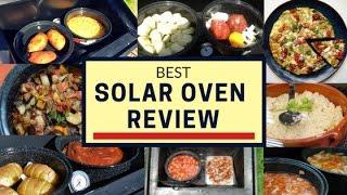 Best Solar Oven Review | Portable Solar Oven for Preppers | Solavore Solar Power Solar Cooker