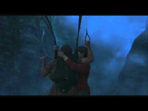 Paraglider vs Pterosaur on Jurassic Park 3