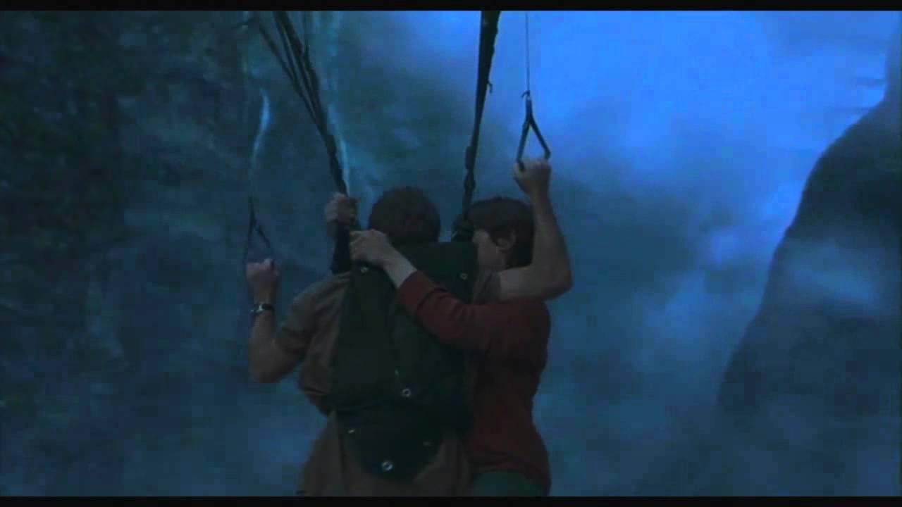 Paraglider vs Pterosaur on Jurassic Park 3 - YouTube