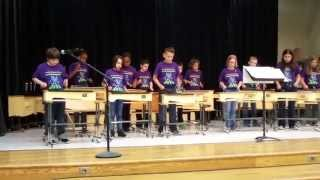 FES Orff Ensemble Mbira Jam at Texas Gulf Coast Orff Festival Performance 2015