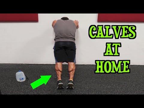 Intense Tabata At Home Calf Workout (HIIT)