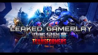 Transformers Online [PC] Leaked Demo Gameplay