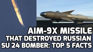 AIM 9X SIDEWINDER MISSILE: TOP 5 FACTS