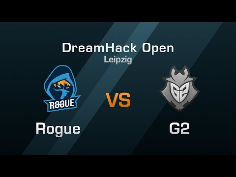 Rogue vs G2 Esports - Group F Round 1 - DreamHack Open Leipz