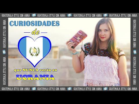 ☝ CURIOSIDADES de GUATEMALA que NUNCA verán en UCRANIA ☝ ANNA la Ucraniana