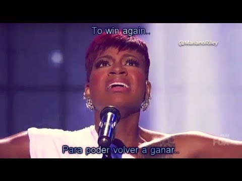"Fantasia - ""Lose To Win"" - AMERICAN IDOL 2013 (Español/English lyrics)"