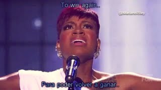 "Fantasia - ""Lose To Win\"" - AMERICAN IDOL 2013 (Español/English lyrics)"