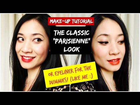 CLASSIC 'PARISIENNE' LOOK Make-up Tutorial / PARISIAN CHIC /