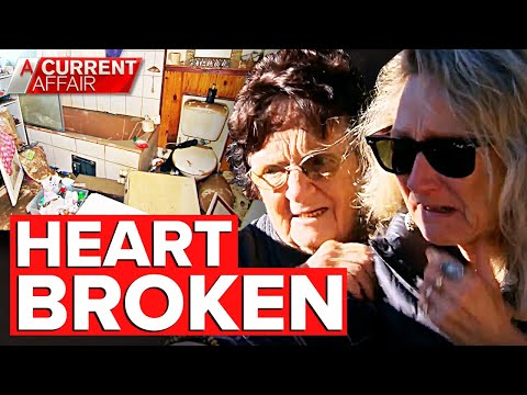 Woman's home for 50 years ruined by flood | A Current Affair