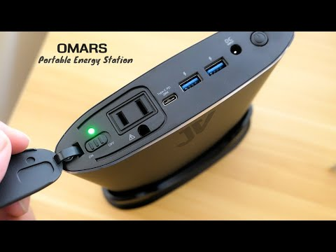 OMARS - Portable Laptop Charger - Power Bank